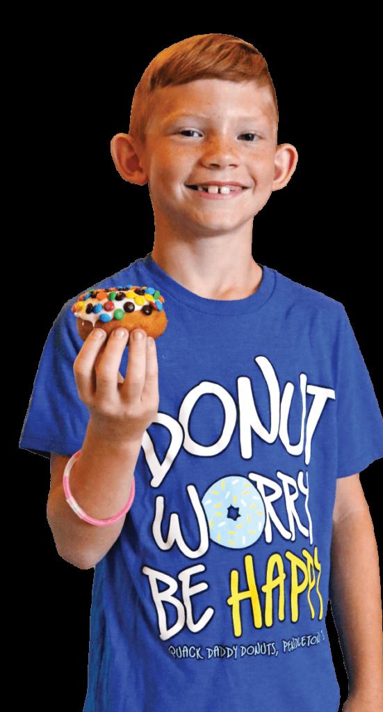 Quack Daddy Donuts Boy-Cutout